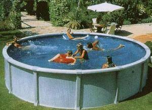 Ray Piscines - concerto ronde - Pool Mit Stahlohrkasten