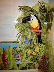 Faiences De Ponchon - decor salle de bain - Keramikfliese