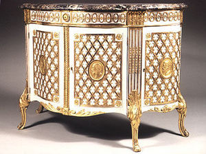 Aveline - paire de commodes allemandes - Kommode