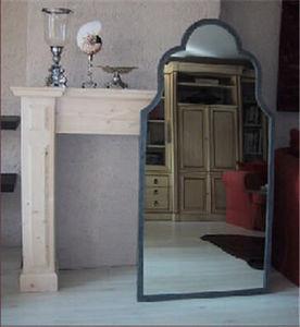 Objet de Curiosite - miroir fer plat 150cm - Spiegel