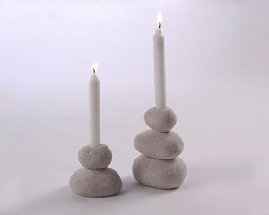 ALKAMIE.biz - stone candleholder - Kerzenständer