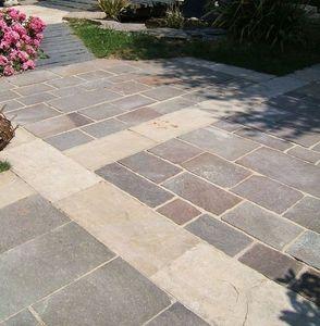 HMT - dalles porphyre et romane - Bodenplatten Außenbereich