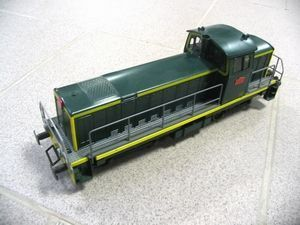 frantic - locomotive diesel bb 71000 avec bielles - Eisenbahn In Kleinerem Format