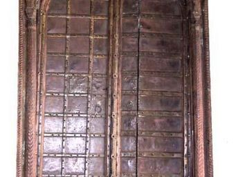 La Farfouille - porte de temple indien - Antike Tür