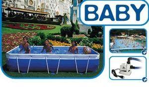 Laghetto - baby - Pool Mit Stahlohrkasten