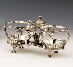 Dario Ghio Antiquites -  - Essig Und Öl Set
