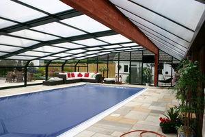 Telescopic Pool Enclosures - rhodos - Hoches Swimmingpool Schutz