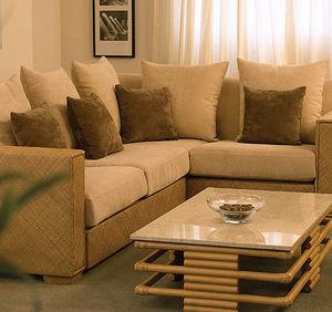 Angraves Cane Furniture -  - Ecksofa