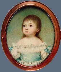 ELLE SHUSHAN - portrait miniature - Porträt