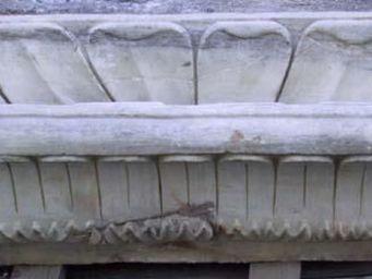 La Farfouille - bassin en marbre - Becken