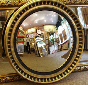 Henneman & Lettuce - acanthus leaf mirror - Konvexspiegel
