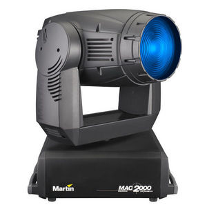 Martin Professional - mac 2000 wash - Video Light Projector