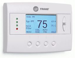 Trane - comfortlink? remote thermostat - Haustechnik Central Bedienung