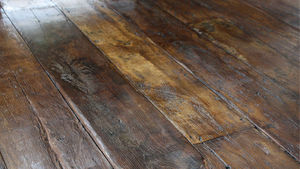 Drummonds Architectural Antiques - c17th/c18th country house oak - Naturholzboden