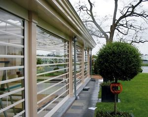 Hag Shutters & Grilles -  - Glasfensterfront