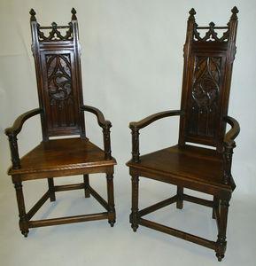 M. Markley -  - Caquetoire (französischer Stuhl)