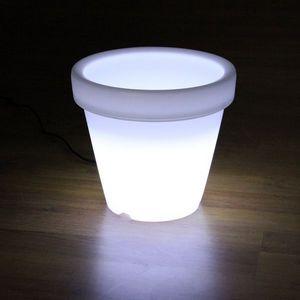 BONA REVA - pot led ø35.5 x h32cm - Leuchtblumentopf