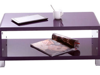 Miliboo - roxy table basse - Rechteckiger Couchtisch