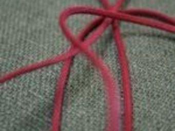 TISSUSDESLUNES - aspect cuir - Schnürband