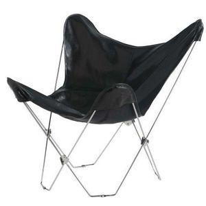 Maisons du monde - fauteuil noir easy - Sessel