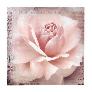 MAISONS DU MONDE - toile rosa rose - Dekobilder