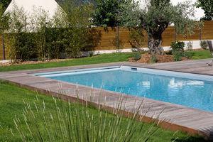 CARON PISCINES - bassin de nage - Traditioneller Schwimmbad