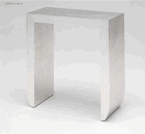 Mathi Design - console design or ou argent turia - Konsolentisch