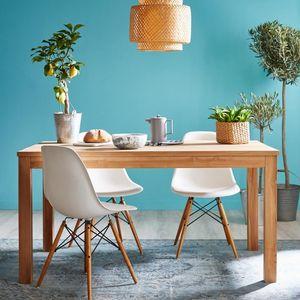 BOIS DESSUS BOIS DESSOUS - table en bois de teck 150 boston - Rechteckiger Esstisch