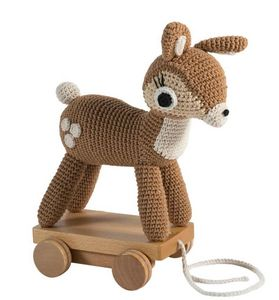 SEBRA INTERIOR - deer - Nachziehspielzeug