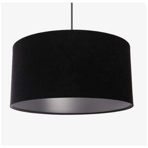 Mathi Design - suspension argent noir - Deckenlampe Hängelampe