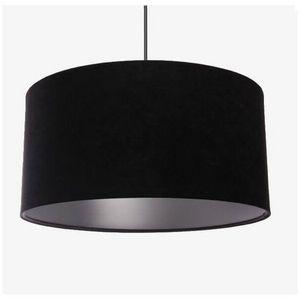 Mathi Design - suspension argent noir - Deckenlampe Hängelampe
