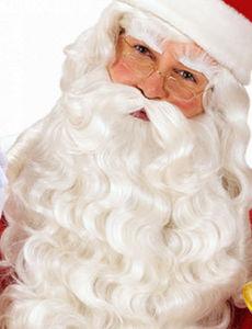 RuedelaFete.com - perruque et barbe - Weihnachtsmannbart