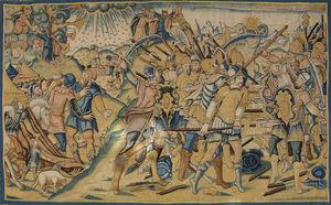 Galerie Hadjer - scène de l'ancien testament - Aubusson Teppich