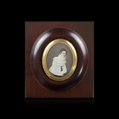 Expertissim - Miniatur Portrait-Expertissim-ECOLE FRANCAISE du XIXe SIECLE, vers 1830. Portrai