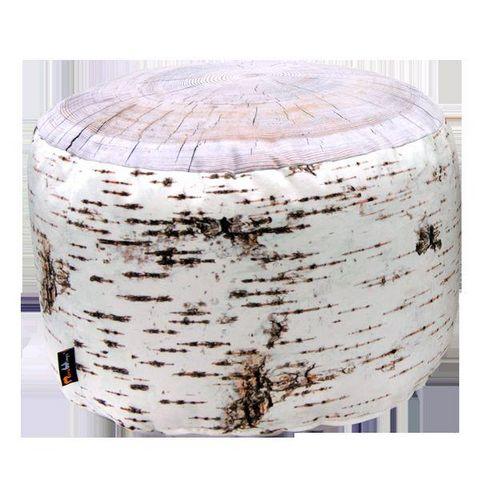 MEROWINGS - Sitzkissen-MEROWINGS-Birch Stump Indoor Pouf