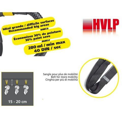 FARTOOLS - Farbpistole-FARTOOLS-Pistolet à peinture basse pression 350 watts gamme