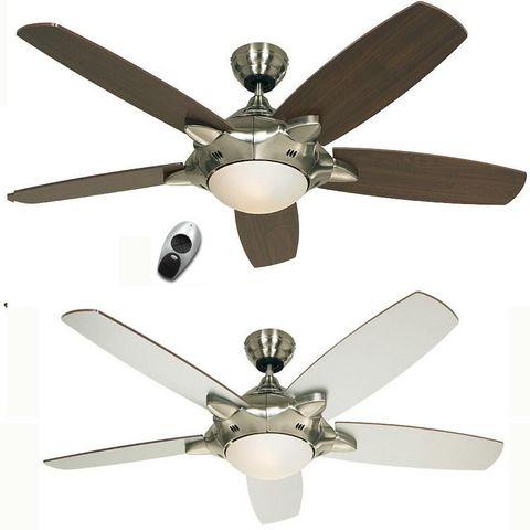 Casafan - Deckenventilator-Casafan-Ventilateur de plafond mercury, moderne 132 Cm chr