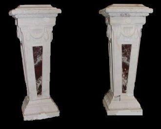 Demeure et Jardin - Säule-Demeure et Jardin-Paire de colonnes