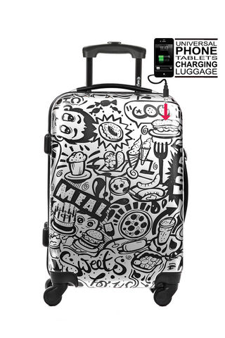 TOKYOTO LUGGAGE - Rollenkoffer-TOKYOTO LUGGAGE-COMIC