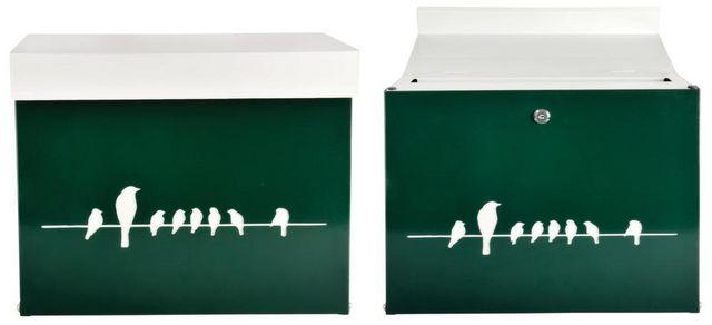 BEST FOR BOOTS - Briefkasten-BEST FOR BOOTS-Boite à lettres Oiseaux sur un fil