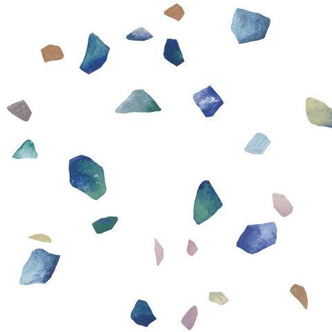 ISIDORE LEROY - Tapete-ISIDORE LEROY-Terrazzo L Bleu