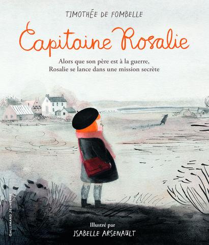 GALLIMARD  JEUNESSE - Kinderbuch-GALLIMARD  JEUNESSE-Capitaine Rosalie