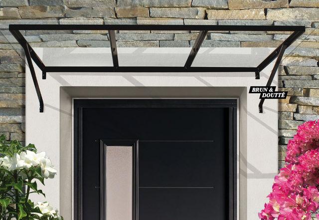 Brun et Doutte - Eingangsvordach-Brun et Doutte-Marquise d'Atelier