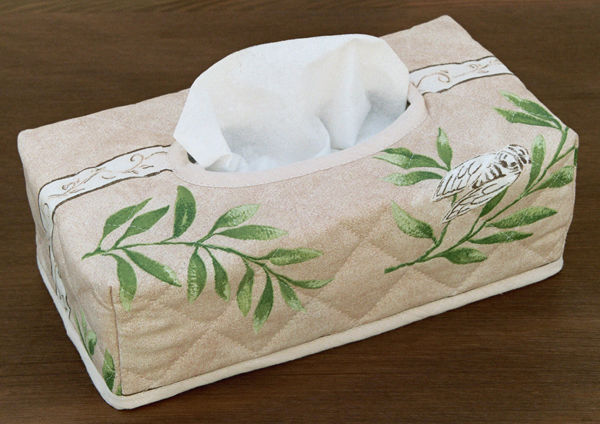 JOJO LA CIGALE - Papiertaschentuch Behälter-JOJO LA CIGALE-Kleenex SAINT REMY Sable