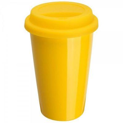 La Chaise Longue - Thermostasse-La Chaise Longue-Mug porcelaine isotherme jaune