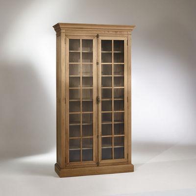 Robin des bois - Vitrinen Schrank-Robin des bois-Vitrine, chêne, 5 étagères, 2 portes, HENRY