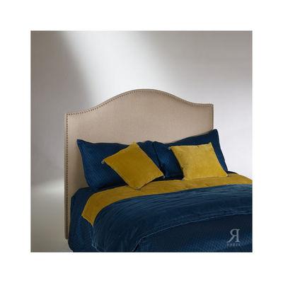 Robin des bois - Kopfteil-Robin des bois-Tête de lit, pin, cloutée, APOLLINAIRE