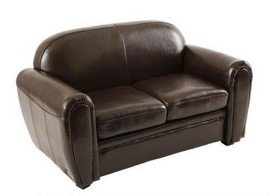 Miliboo - Kind Sofa-Miliboo-Baby Chesterfield marron