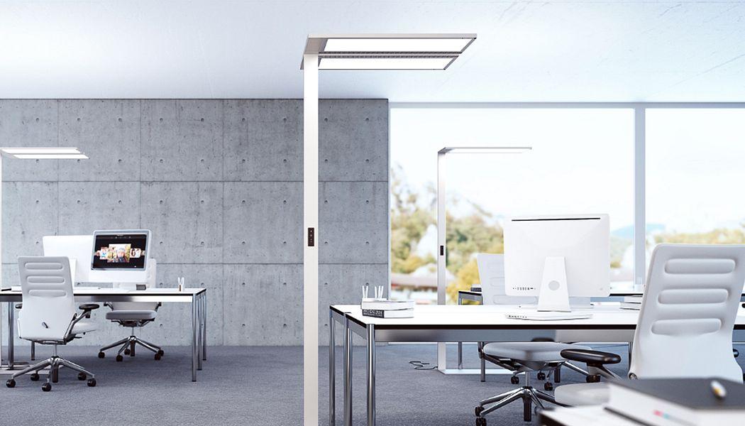 Regent Lighting Lámpara del piso de la oficina Lámparas de pie Iluminación Interior  |