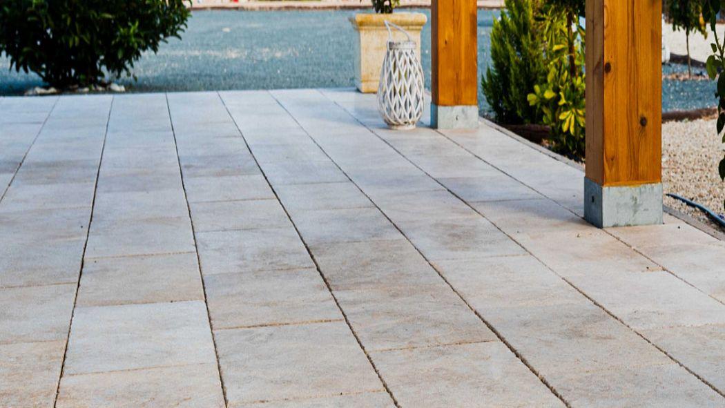 ROSAL STONES Baldosa de piedra natural Enlosados Suelos  |
